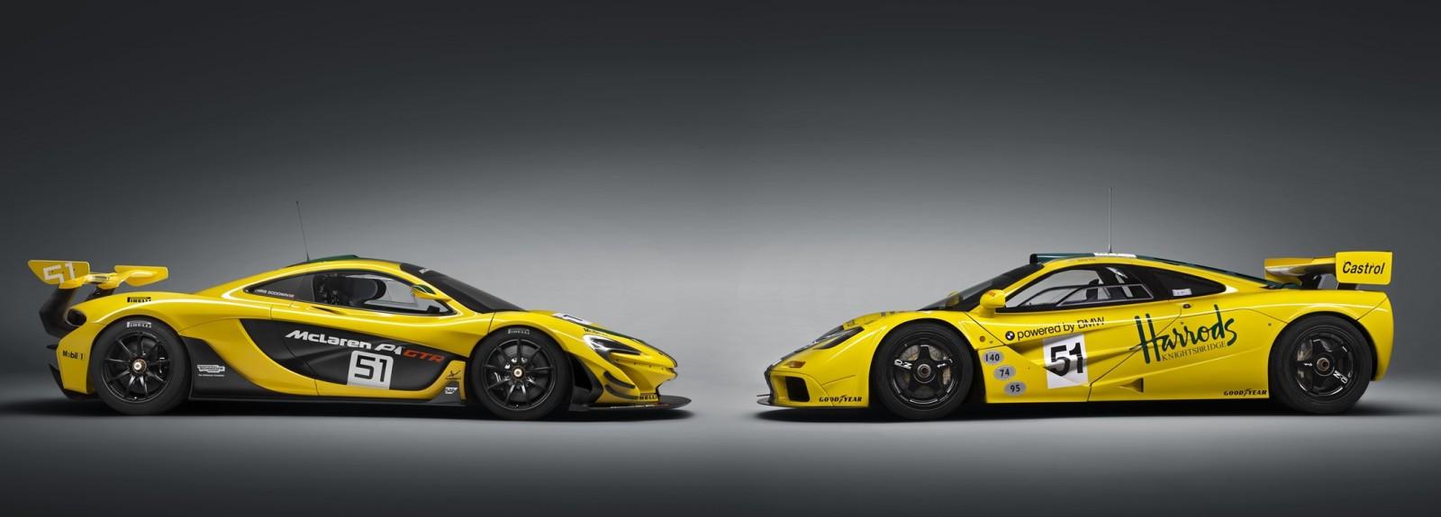 2016 McLaren P1 GTR Yellow 8