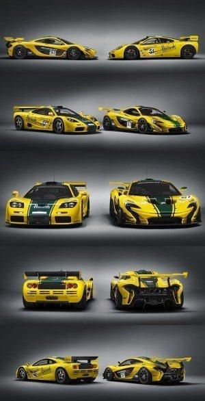 2016 McLaren P1 GTR Yellow 8-vert