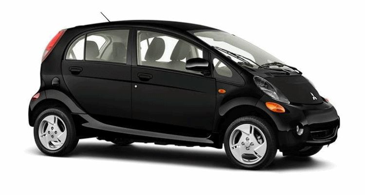 2016 Mitsubishi iMiEV black