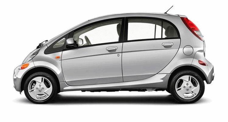 2016 Mitsubishi iMiEV silver