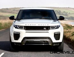 2016 Range Rover EVOQUE Refreshed With Full-LED Lighting, New Cabin and All-New Infotainment