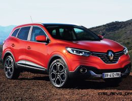 2016 Renault Kadjar Is New Mid-Size Crossover With High Style and Available AWD