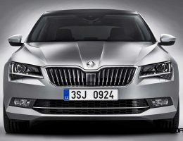 2016 Skoda Superb Revealed in Prague With Audi A8-Rivaling Roominess and Superior Design?!