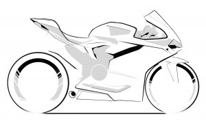 43-01 1299 PANIGALE SKETCH