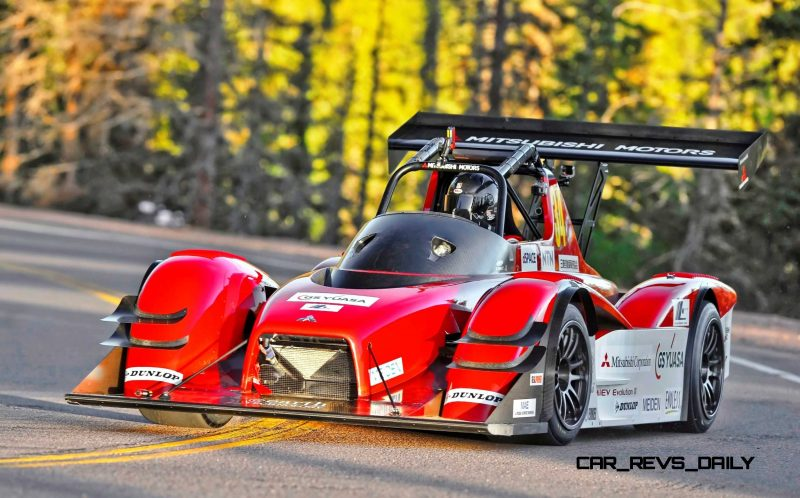 600HP-MiEV-Evolution-III-Mitsubishi-Zaps-Pikes-Peak-Clouds-with-9-min-8.188-sec-One-Two-Finish-2