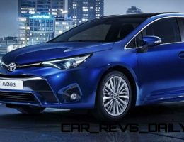 2016 Toyota Avensis Sedan and Estate Coming to Geneva; Showing New Prius Nose?
