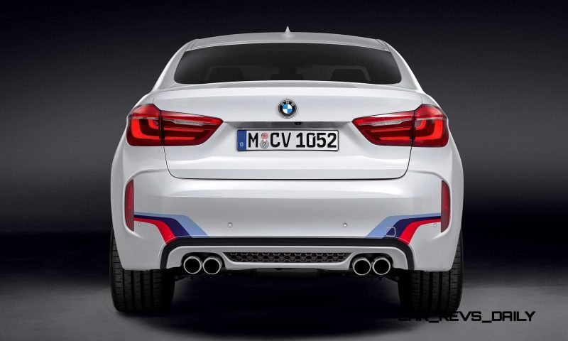 BMW M Performance Parts for 2015 X5M and X6M 16