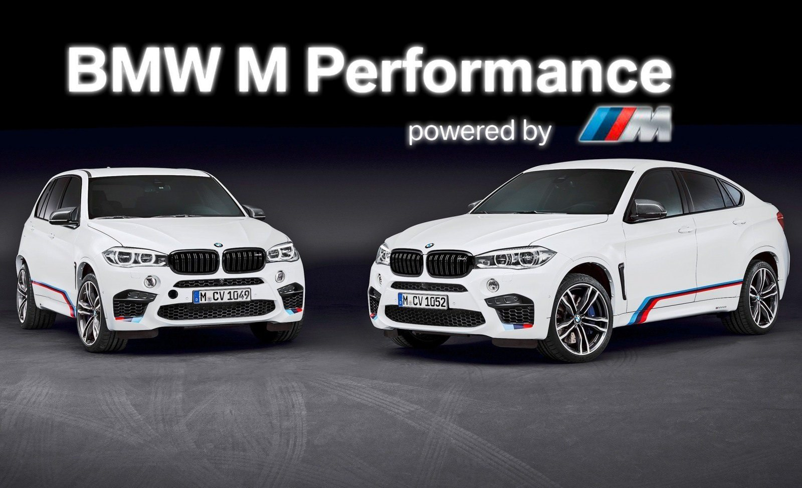 BMW M Performance Parts for 2015 X5M and X6M 2