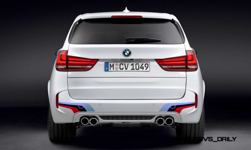 BMW M Performance Parts for 2015 X5M and X6M 8