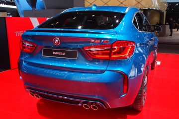 4.0s, 567HP 2015 BMW X6 M In 140 New Photos From Austin COTA