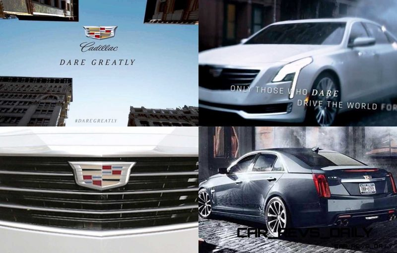 Cadillac Dare Greatly CT6 Teasers 1-tile