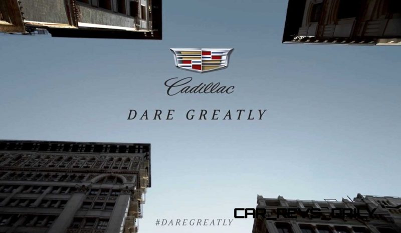 Cadillac Dare Greatly CT6 Teasers 1