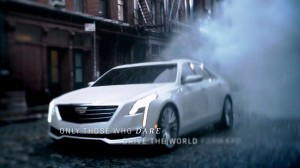 Cadillac Dare Greatly CT6 Teasers 39