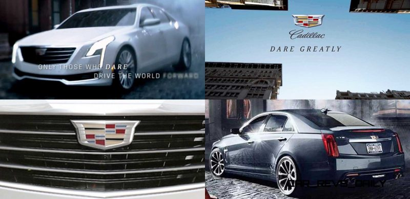 Cadillac Dare Greatly CT6 Teasers 40-tile