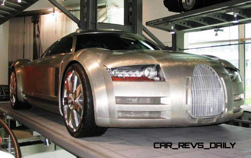 Concept Flashback - 2000 Audi Rosemeyer 1