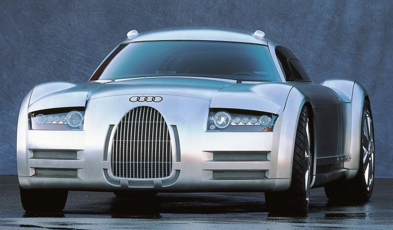 Concept Flashback - 2000 Audi Rosemeyer 10