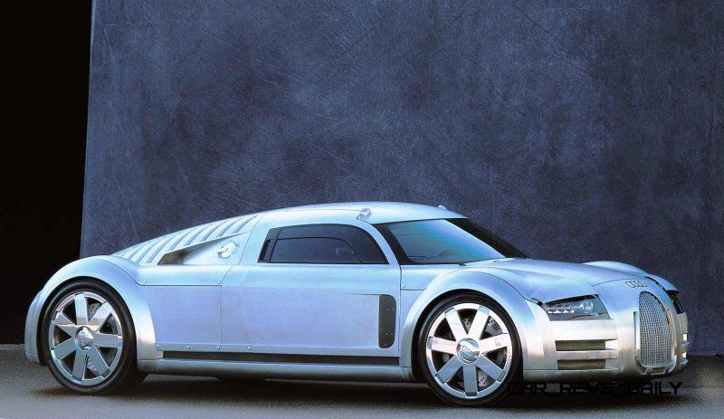 Concept Flashback - 2000 Audi Rosemeyer 11