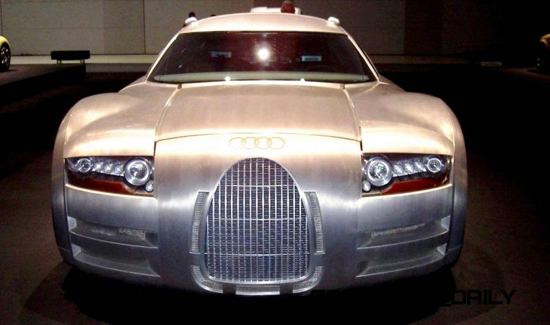 Concept Flashback - 2000 Audi Rosemeyer 2