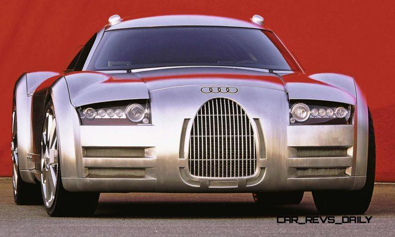 Concept Flashback - 2000 Audi Rosemeyer 3