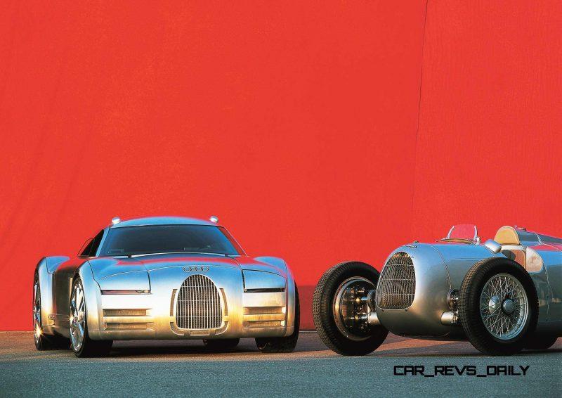 Concept Flashback - 2000 Audi Rosemeyer 7