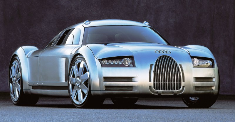 Concept Flashback - 2000 Audi Rosemeyer 9