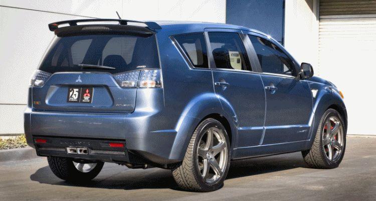 Concept Flashback - 2006 Mitsubishi EvoLander