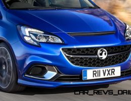 2015 Vauxhall Corsa VXR Packs Koni Shocks and Limited-Slip Diff!