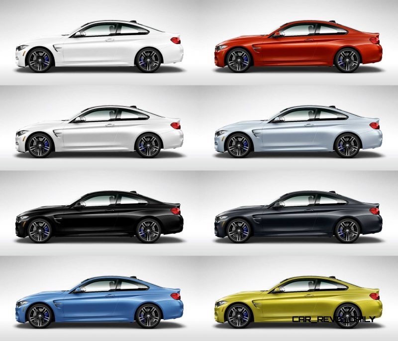 2015 Bmw M4 Colors