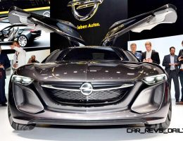 Design Analysis – 2013 Opel-Vauxhall MONZA Is Exotic, Advanced PHEV GT
