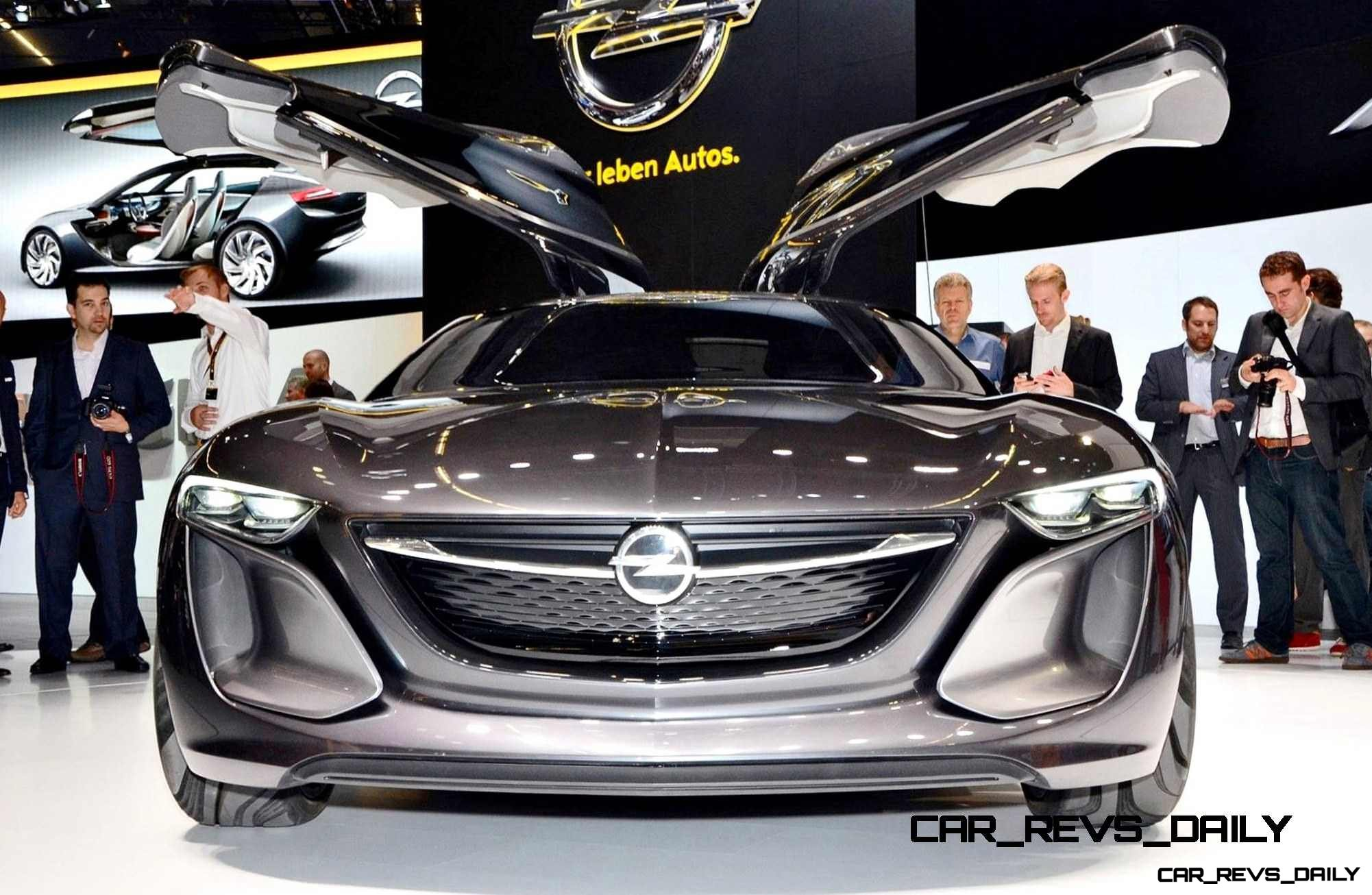 Design Analysis - 2013 Opel-Vauxhall MONZA Is Exotic, Advanced PHEV GT 12