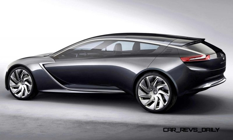 Design Analysis - 2013 Opel-Vauxhall MONZA Is Exotic, Advanced PHEV GT 24