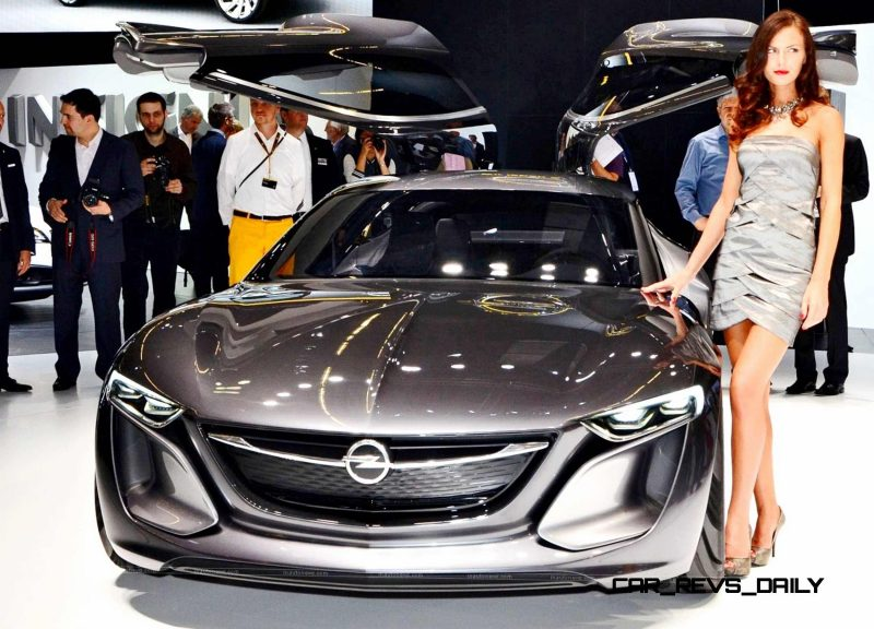 Design Analysis - 2013 Opel-Vauxhall MONZA Is Exotic, Advanced PHEV GT 5
