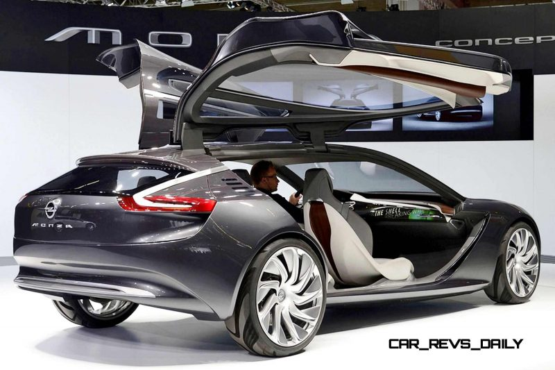 Design Analysis - 2013 Opel-Vauxhall MONZA Is Exotic, Advanced PHEV GT 8