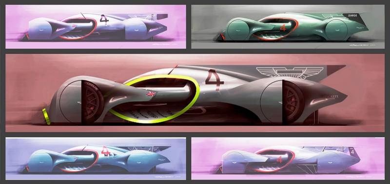 Ege Argüden 2035 Aston Martin AMR-AP LeMans Racer 8