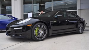 First Drive Review - 2015 Porsche Panamera S E-Hybrid 12