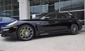 First Drive Review - 2015 Porsche Panamera S E-Hybrid 14
