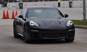 First Drive Review - 2015 Porsche Panamera S E-Hybrid 26