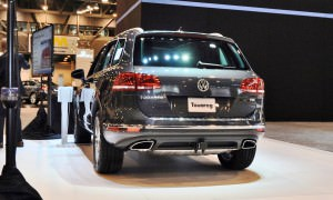 First Drive Review - 2015 Volkswagen Touareg TDI Feels Light, Quick and Lux 1