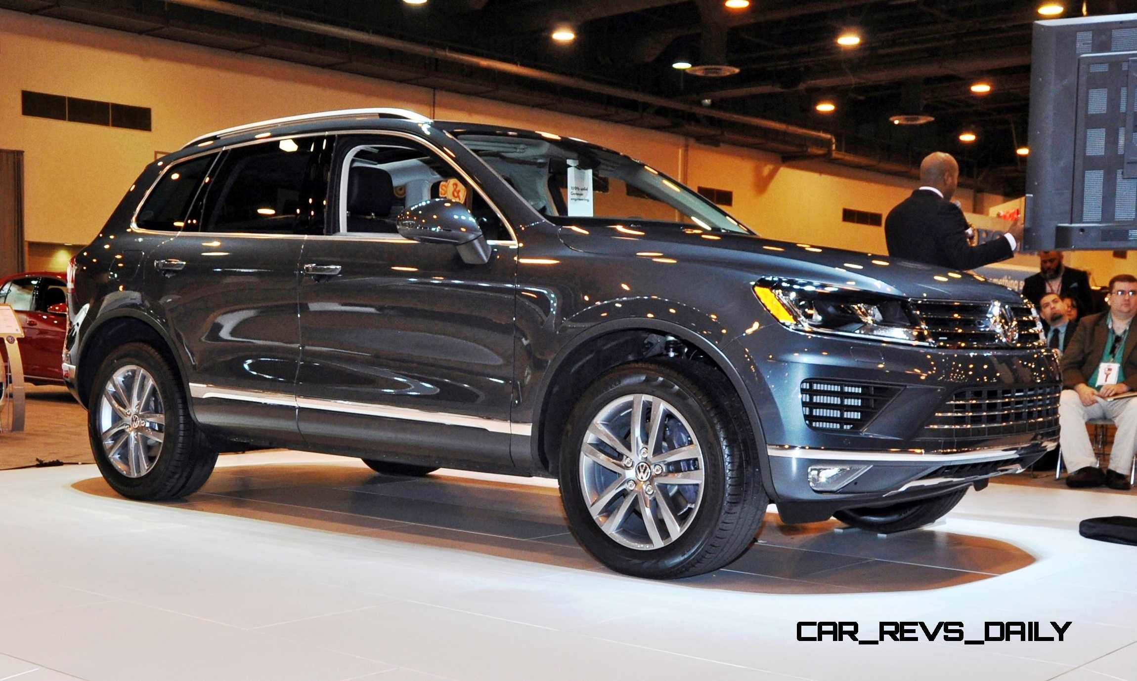 First Drive Review 2015 Volkswagen Touareg Tdi Feels Light Quick And Lux 13
