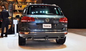 First Drive Review - 2015 Volkswagen Touareg TDI Feels Light, Quick and Lux 2