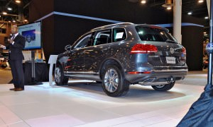 First Drive Review - 2015 Volkswagen Touareg TDI Feels Light, Quick and Lux 3
