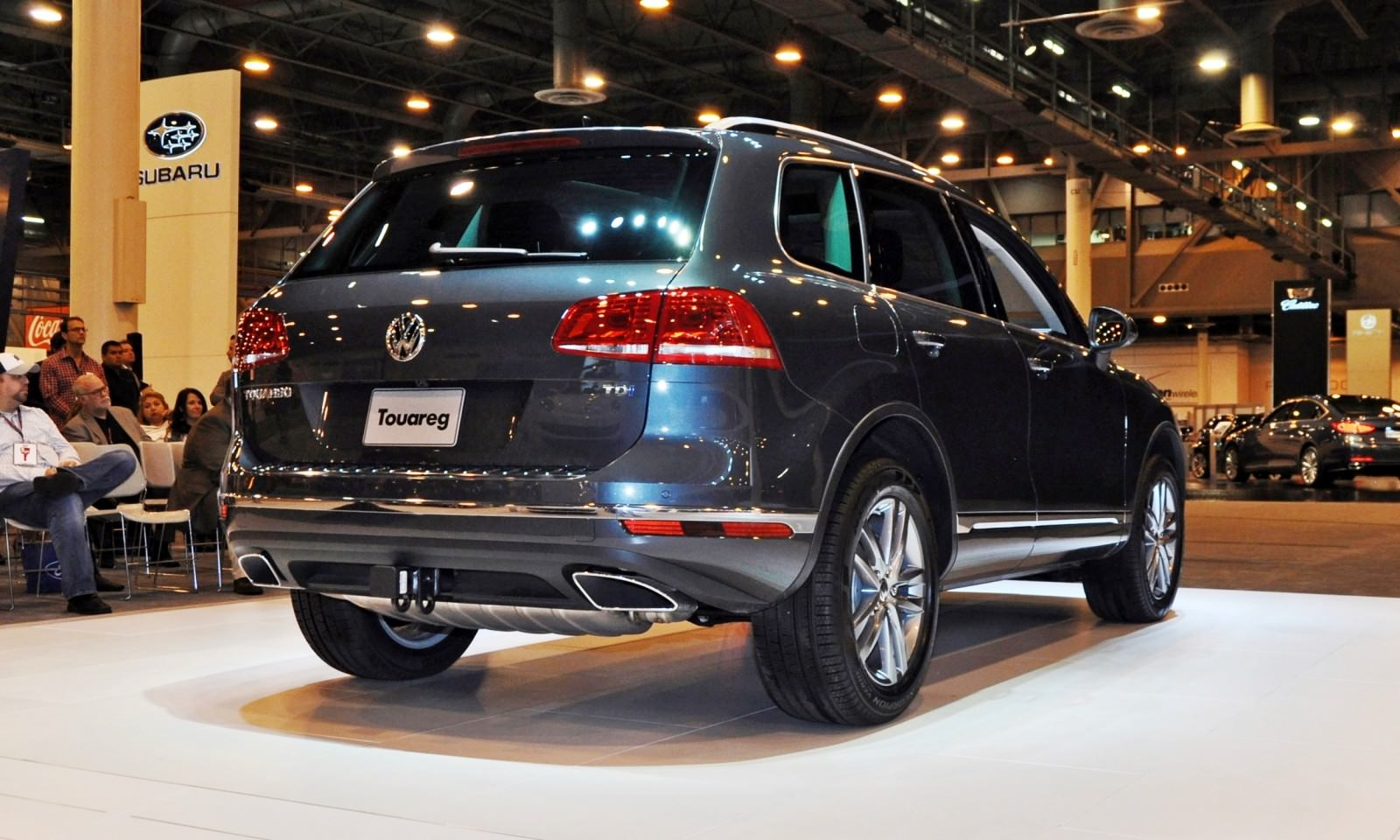 First Drive Review - 2015 Volkswagen Touareg TDI Feels Light, Quick and Lux 7