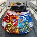 Houston Auto Show Curio - Porsche 356 Art Car Is Janis Joplin Homage 8
