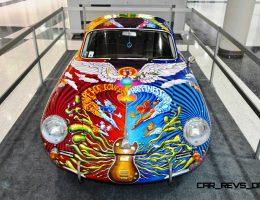 Houston Auto Show Curio – Porsche 356 Art Car Is Janis Joplin Homage