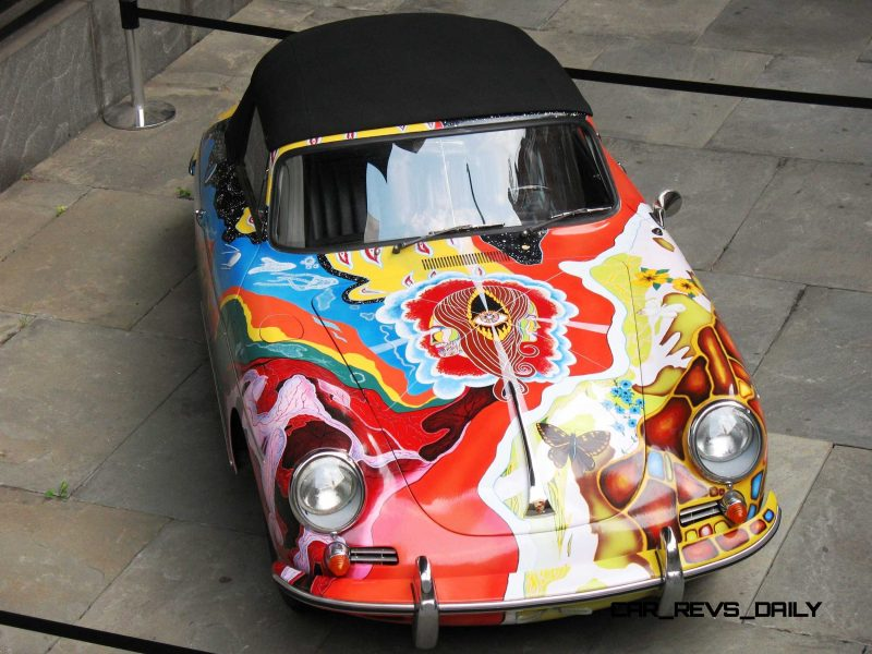 Houston Auto Show Curio - Porsche 356 Art Car Is Janis Joplin Homage 9