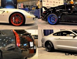 Houston Auto Show Tuners – RSV Forged Wheels, Hoosier Drag Mustang GT and ADV1 911 GT3