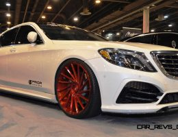 Houston Tuner Showcase – 2015 Mercedes-Benz S-Class by MODESTA Glass Coatings Ft. Prior Design Bodykit