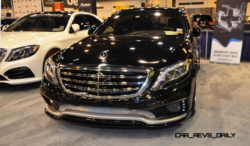 Houston Tuner Showcase - 2015 Mercedes-Benz S-Class by MODESTA Glass Coatings Ft. Prior Design Bodykits 11