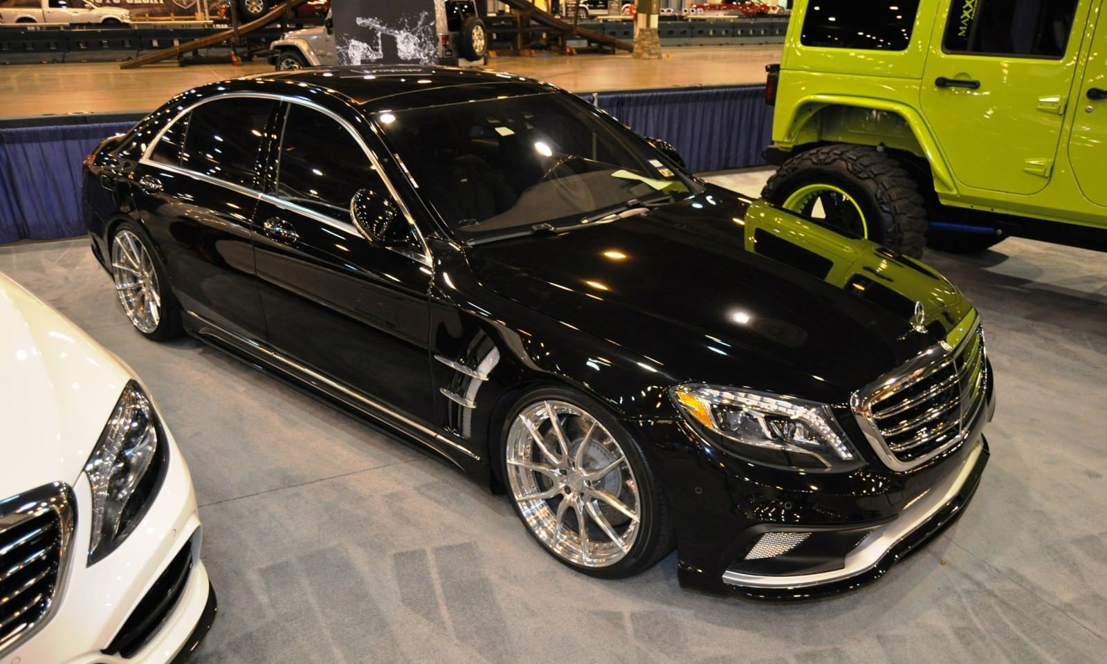 Houston Tuner Showcase - 2015 Mercedes-Benz S-Class by MODESTA Glass Coatings Ft