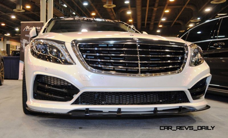 Houston Tuner Showcase - 2015 Mercedes-Benz S-Class by MODESTA Glass Coatings Ft. Prior Design Bodykits 4